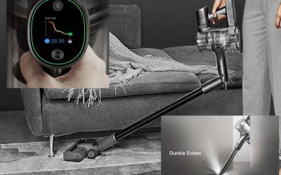 Dreame T30 Display-Akkusauger für 294€ bei Cyberport: Schmutzerkennung & 90 Min. Arbeitszeit