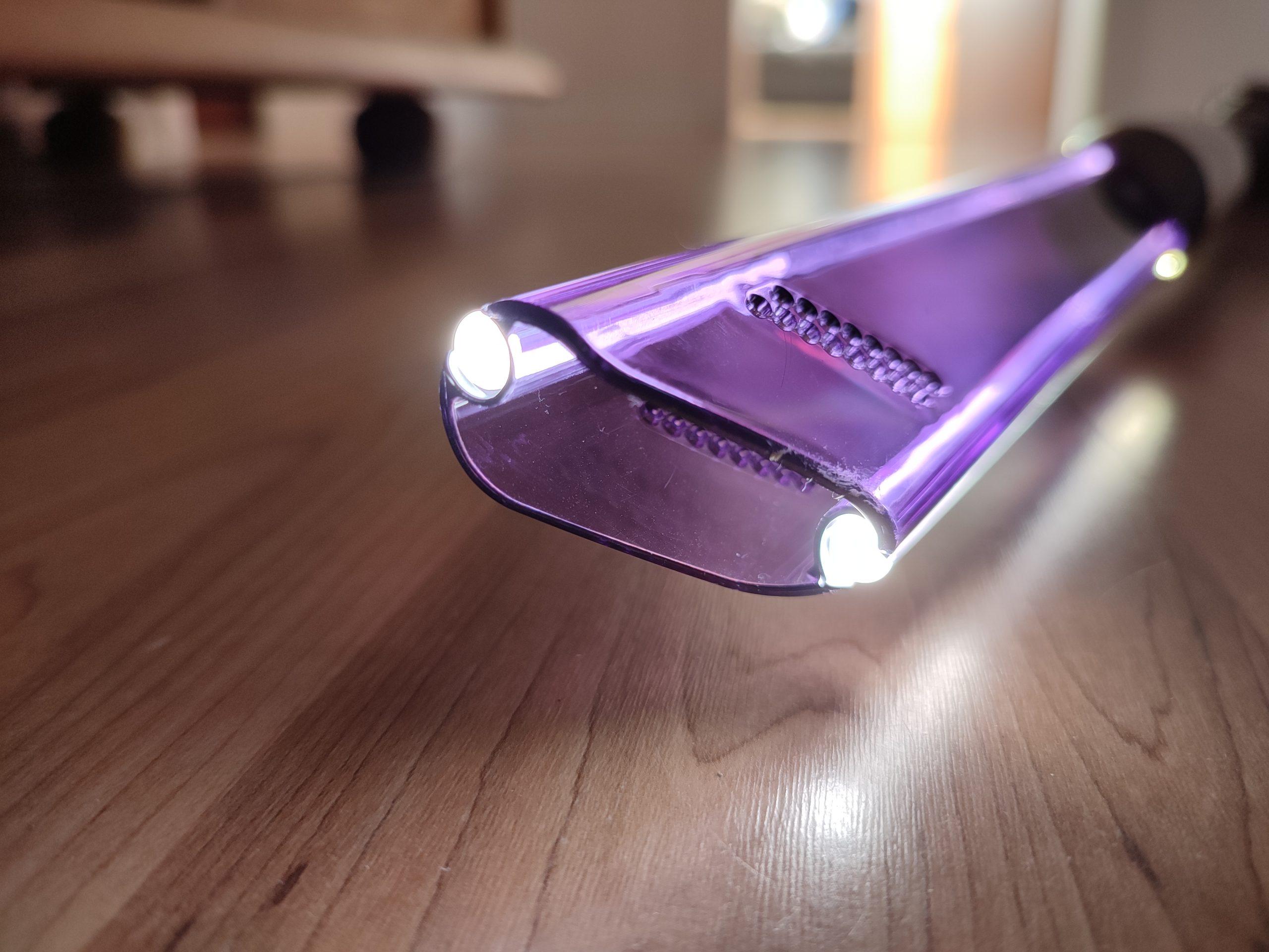 Dyson Omni-Glide Akkusauger LED-Fugenduese Optik