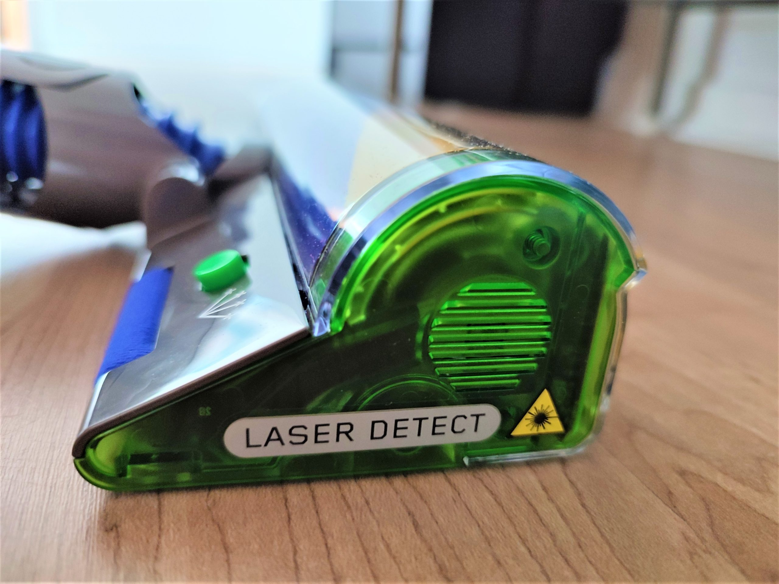 Dyson V15 Detect Akkusauger Laser Detektor