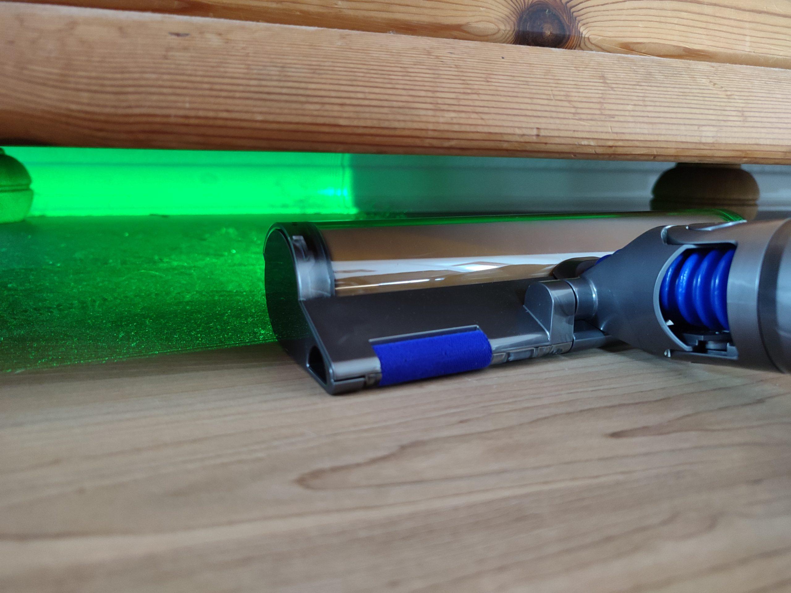 Dyson V15 Detect Akkusauger Laser-Erkennung