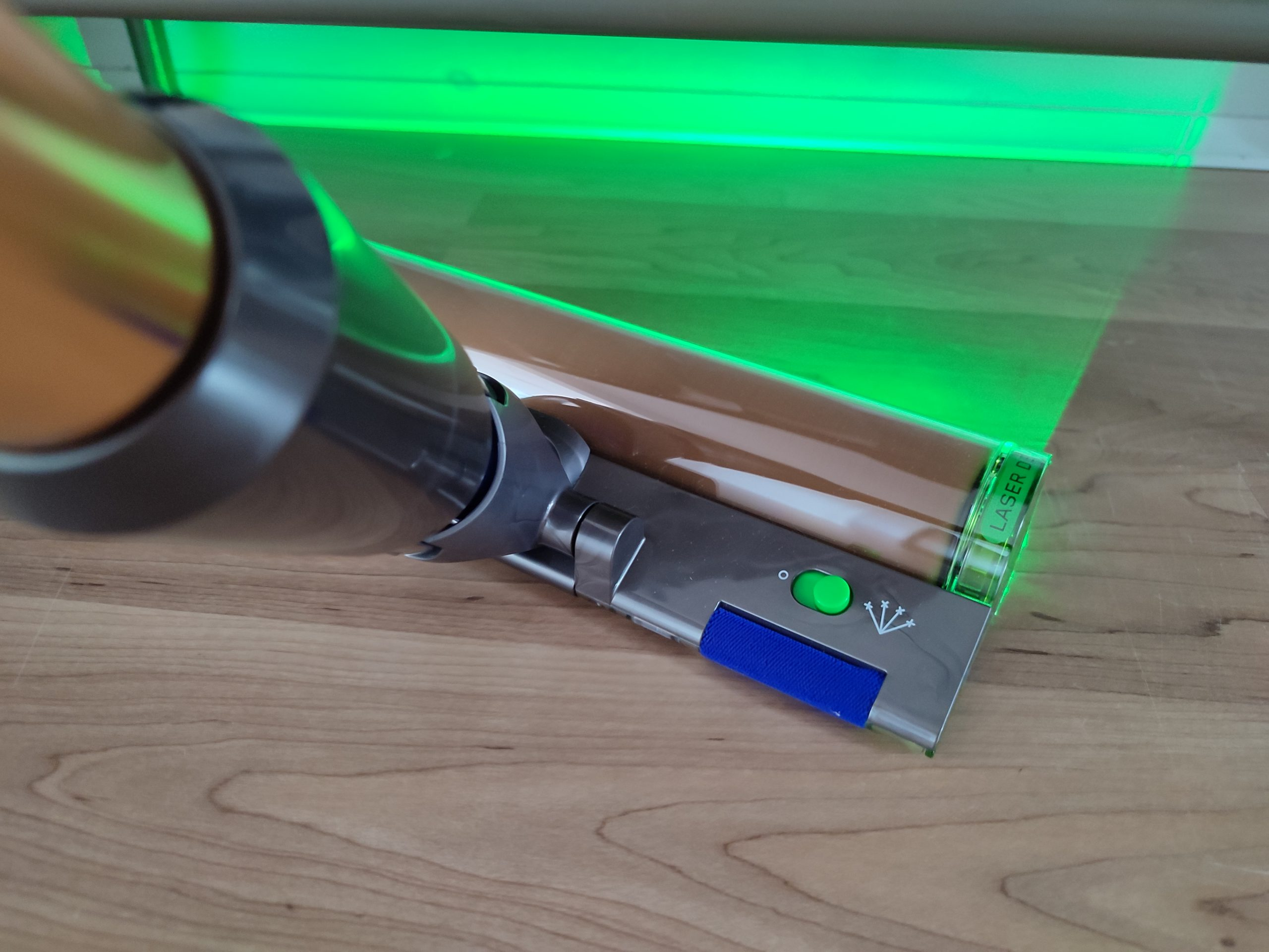 Dyson V15 Detect Akkusauger Laser Sensorik