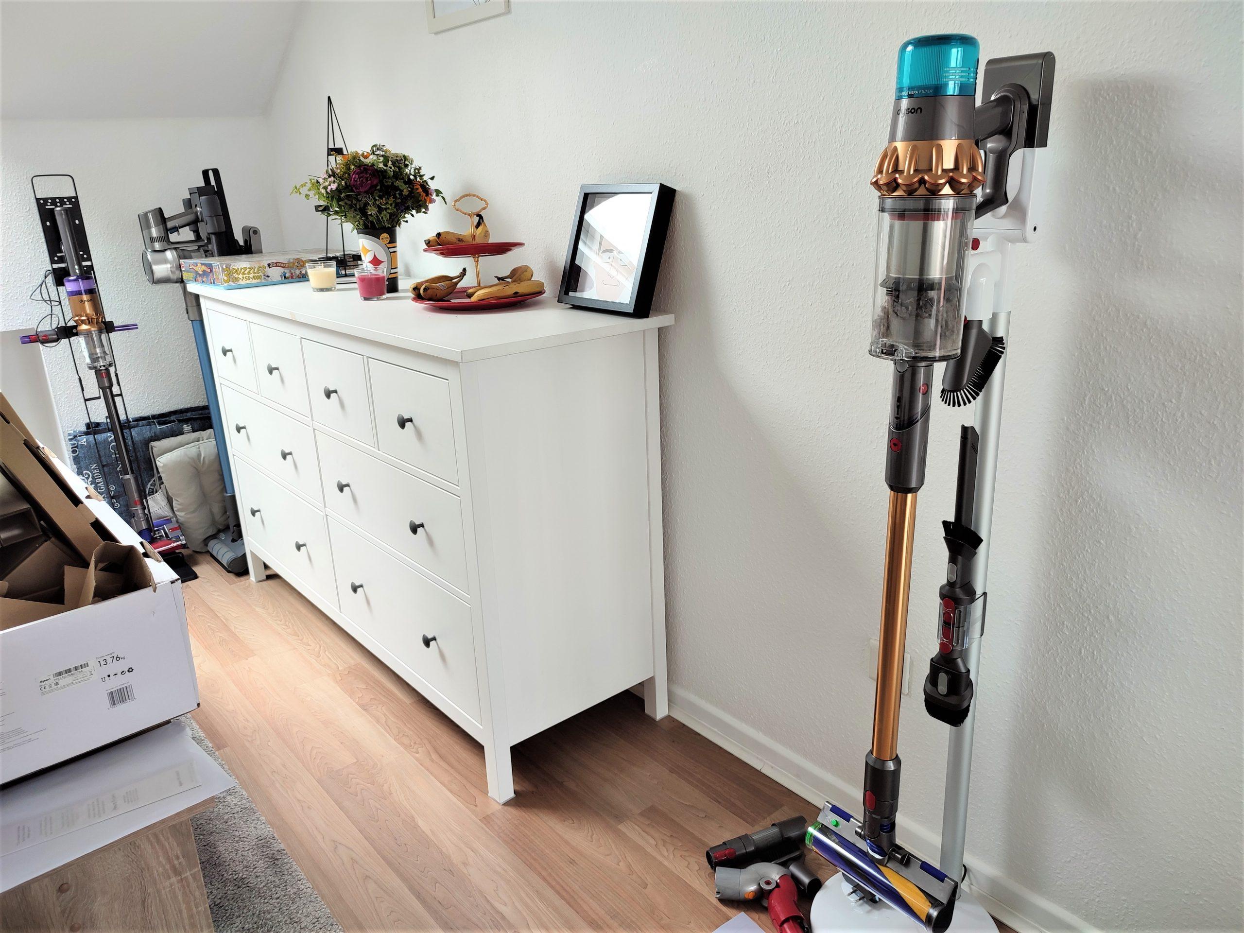 Dyson V15 Detect Akkusauger Standhalterung Design Dock