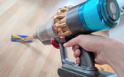 Dyson V15 Detect für 799€ im Test: Wie gut ist der Laser-Akkusauger?