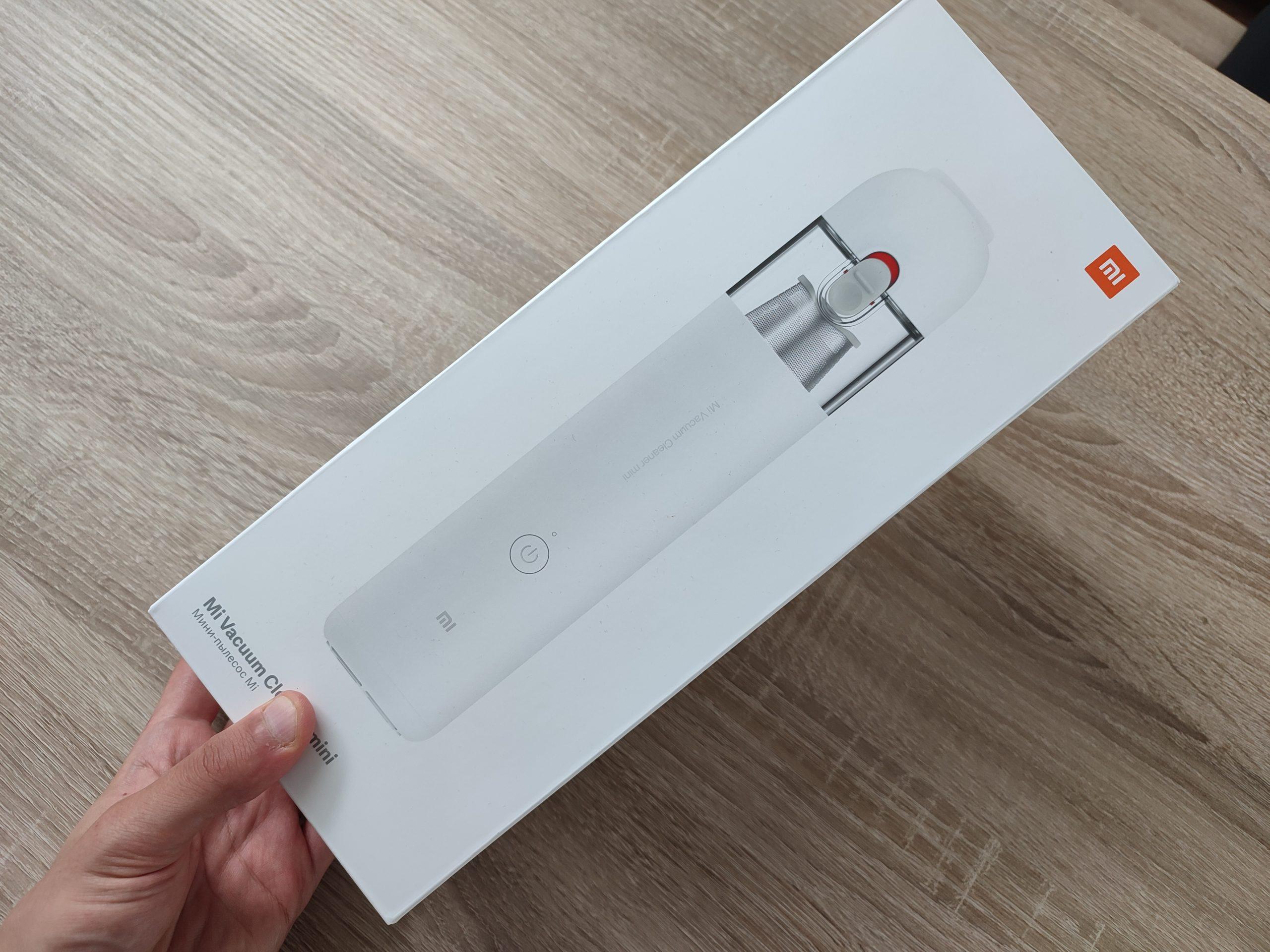 Xiaomi Mi Handsauger Mini Verpackung