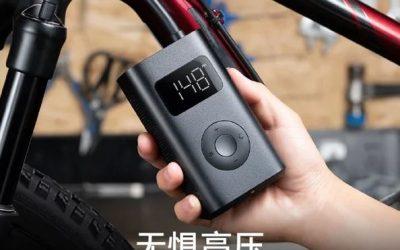 Xiaomi Mijia 1S Luftpumpe für 41,47€ pumpt sogar Autoreifen auf