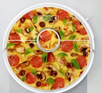 roborock S6 Pizza Sticker Aufkleber Design