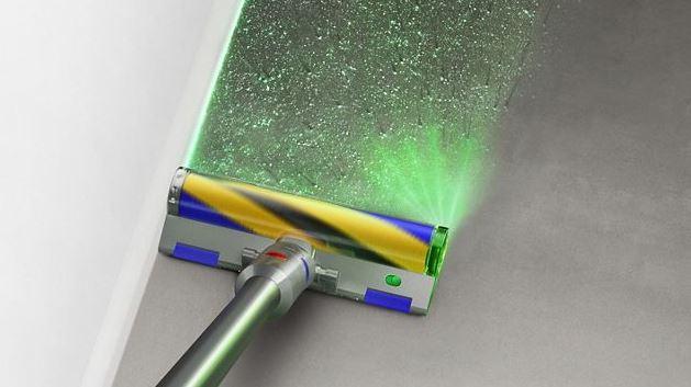 Dyson V12 Slim Akkusauger Laser-Schmutzerkennung