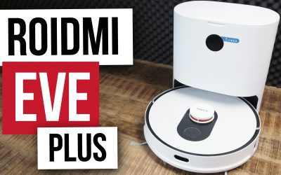 Roidmi EVE Plus LDS-Saugroboter mit Absaugstation für 357€ | Testbericht