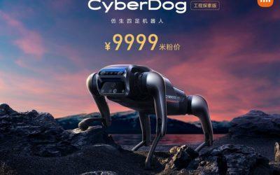 Xiaomis Roboterhund CyberDog in 100 Mi-Stores ausgestellt: Konkurrenz für Boston Dynamics