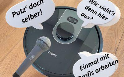 Zigma Spark 980 Saugroboter mit individuellen Sprachpaketen für 277€ bei Amazon | Leser-Test