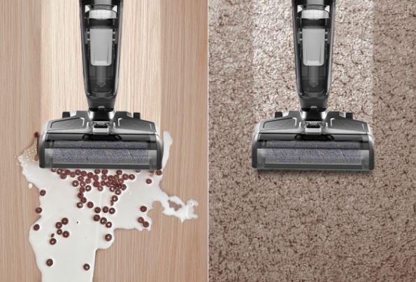 360 F100 Wischsauger Reinigung Hartboden und Teppichboden