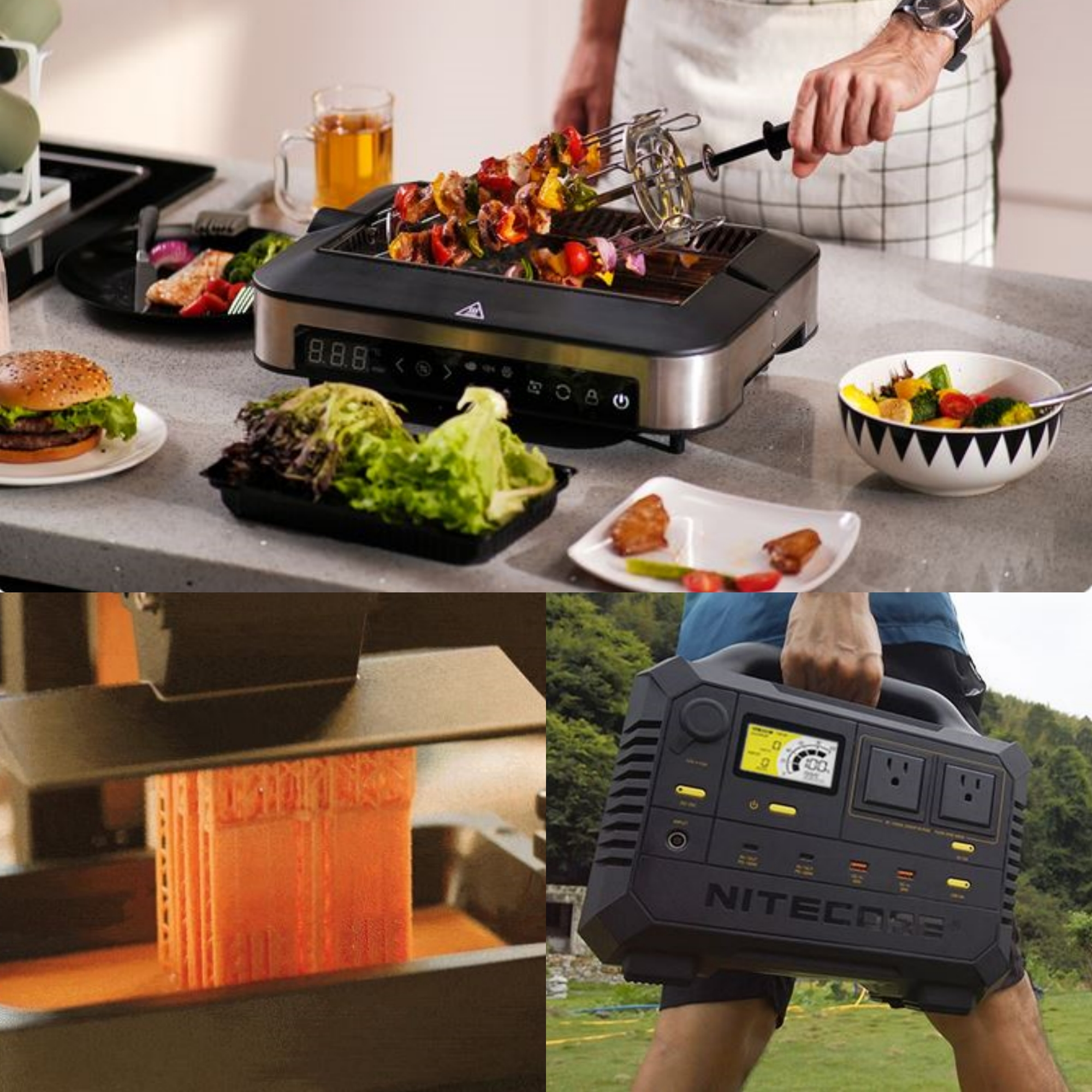Crowdfunding Highlights September 2021 Barbechef Anycubic Photon Ultra Nitecore Power Station