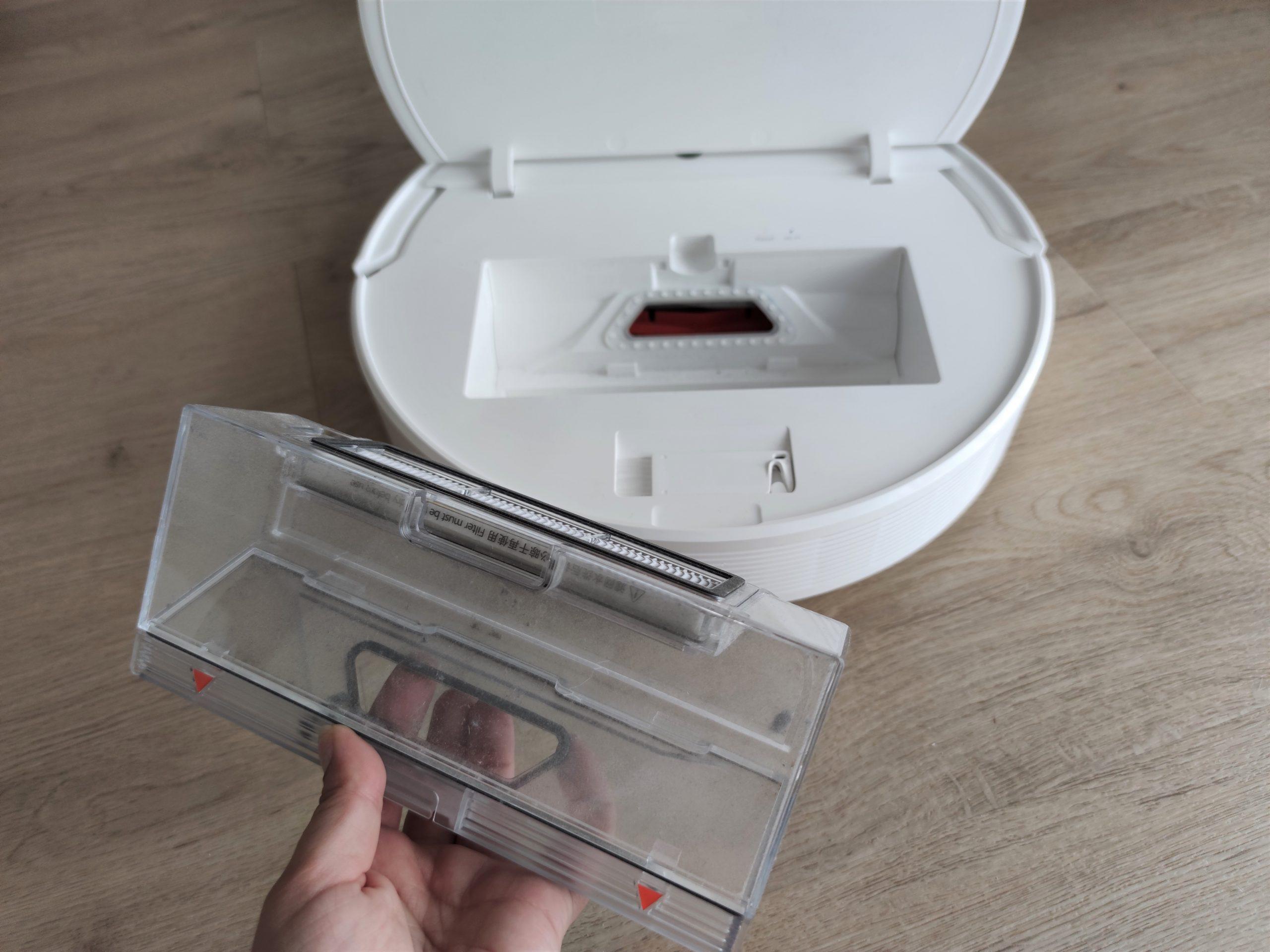 Dreame F9 Saugroboter Staubkammer