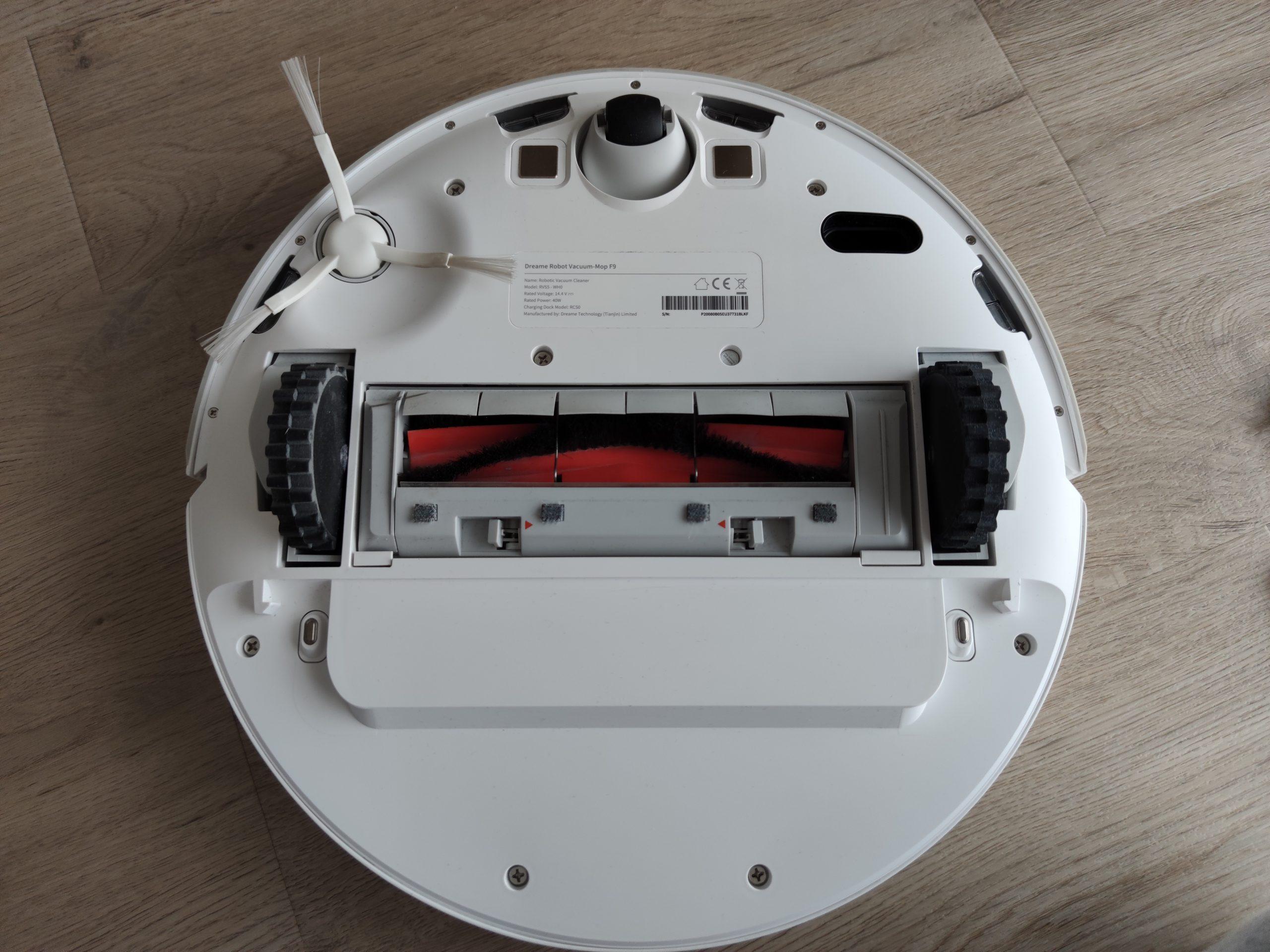Dreame F9 Saugroboter Unterseite