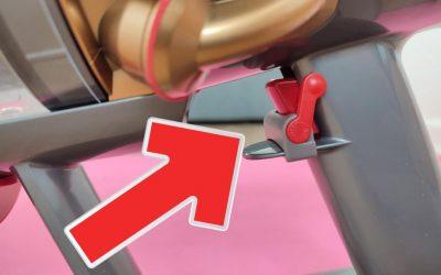 Dyson Schalter-Arretierung für 4,49€ ausprobiert: Powertaste nicht mehr gedrückthalten müssen
