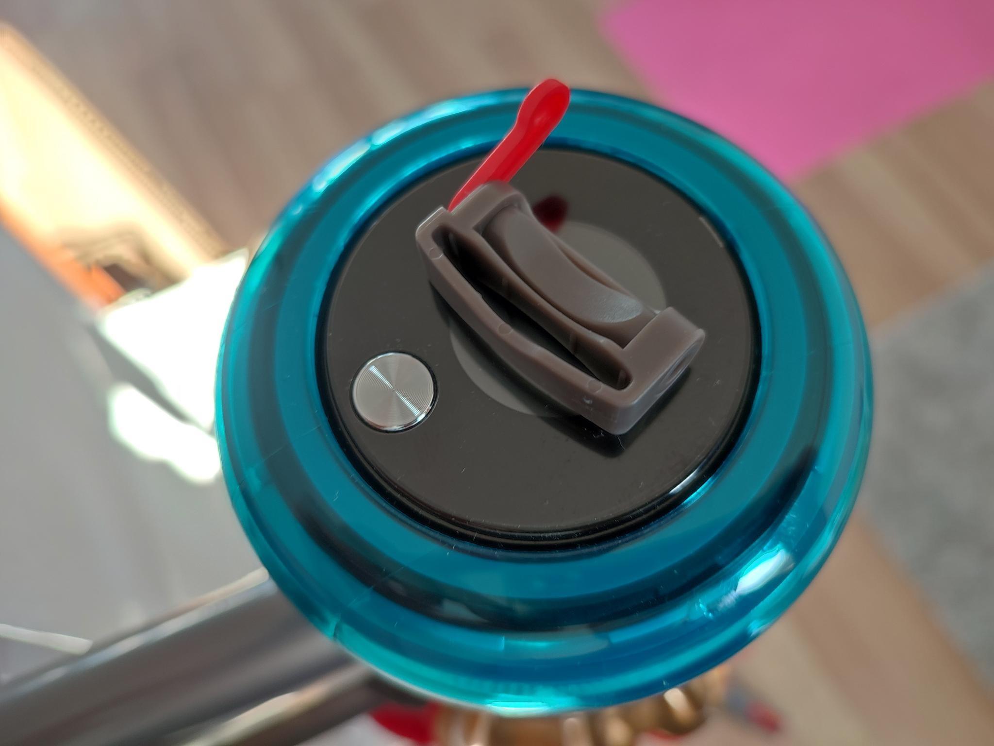 Dyson Arretierung Feststelltaste Auslöser Power-Button auf Display V15 Detect