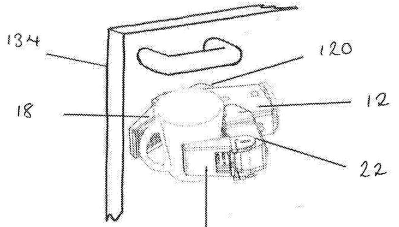 Dyson Saugroboter Treppen steigen Patentanmeldung Plan