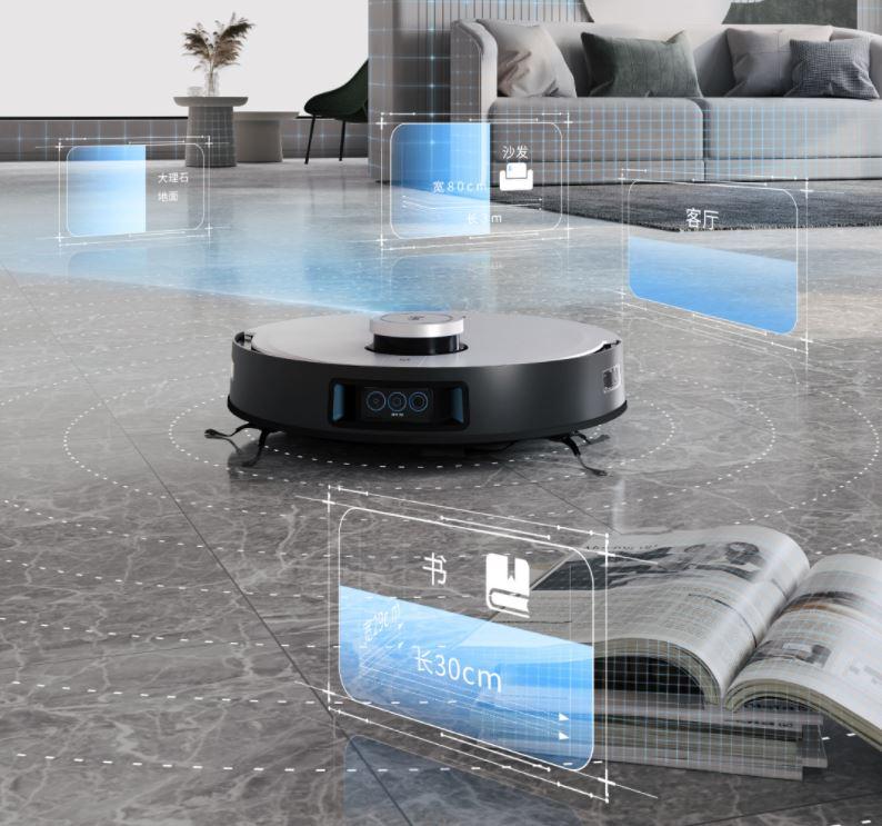 Ecovacs Deebot X1 Omni Saugroboter AI Hinderniserkennung
