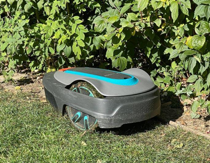 Gardena Sileno City Mähroboter Gartenarbeit Schnitt mähen