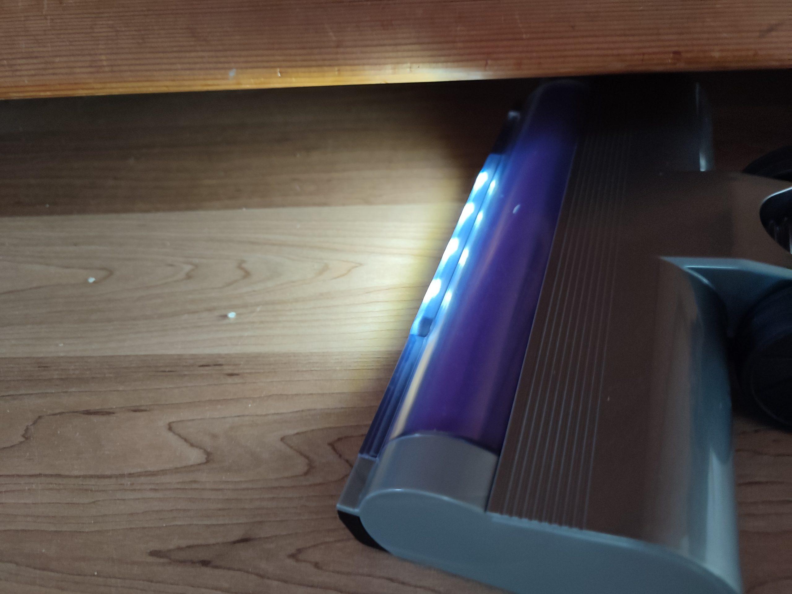 Laresar Elite 1 Akkusauger LED-Licht Leuchten Bodenduese