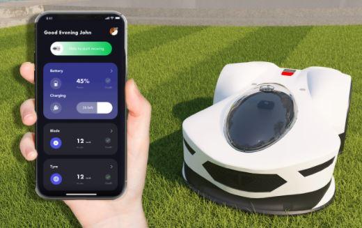 Novabot Mähroboter App Steuerung