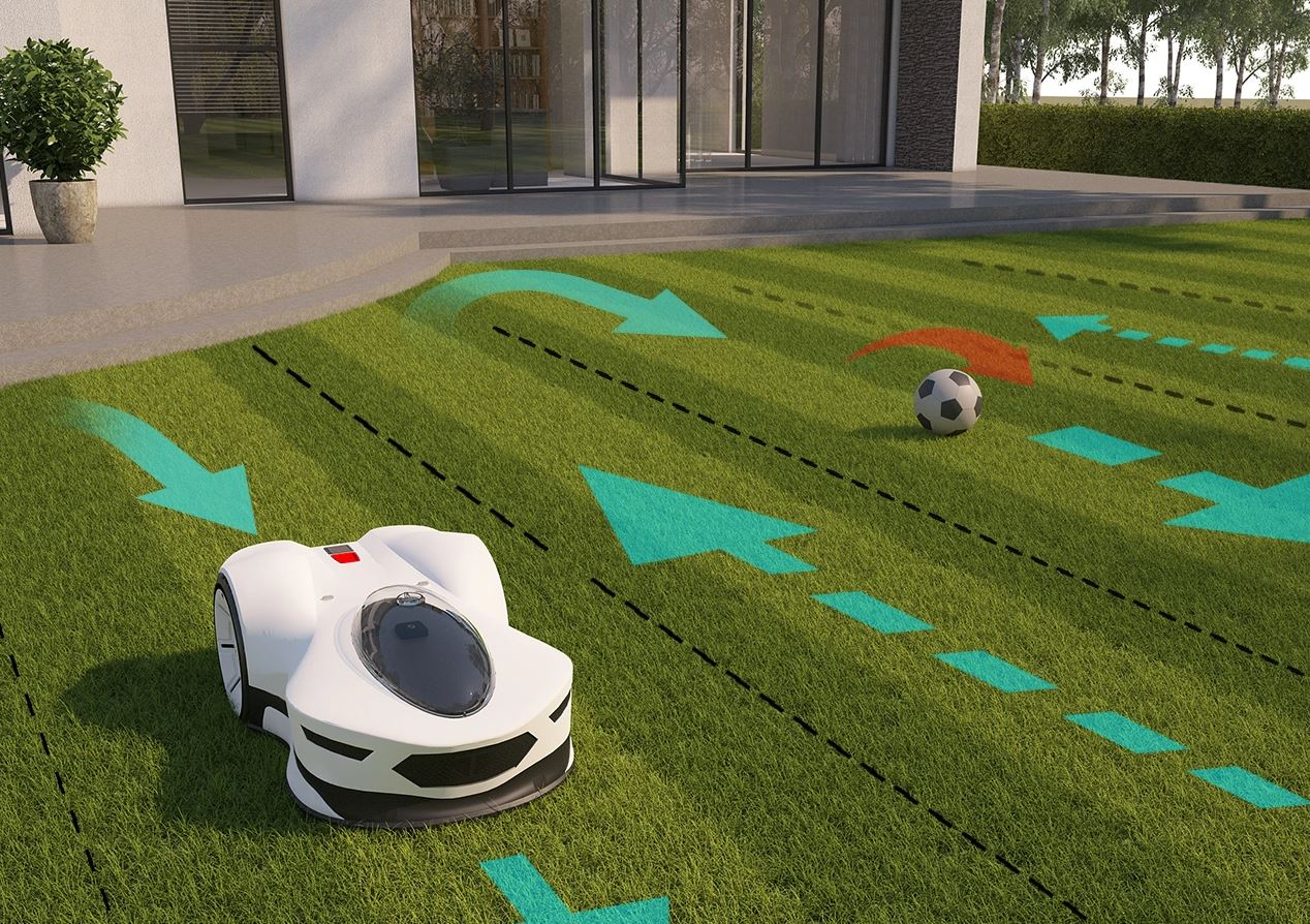 Novabot Mähroboter Navigation Arbeitsweise