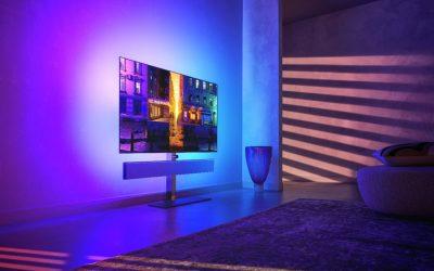 Philips OLED 986: Flaggschiff-TV mit HDMI 2.1, 120 Hz und integrierter Soundbar ab sofort erhältlich