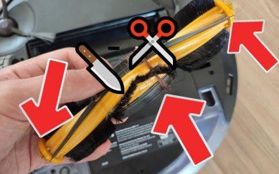 Saugroboter-Trick #12: Wartung und Reinigung der Einzelteile