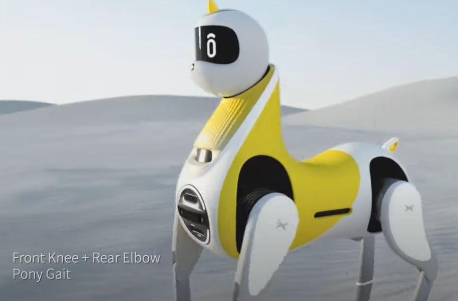 XPENG Unicorn Einhorn Roboter reitbar beritten
