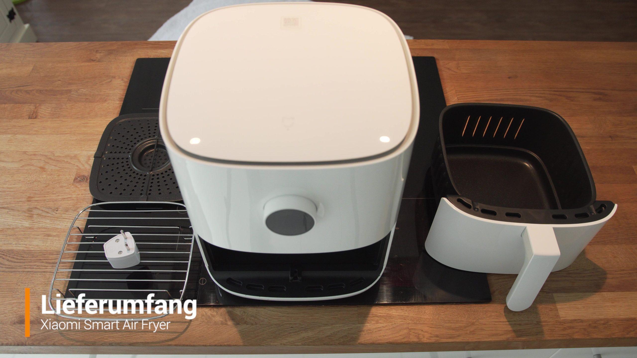 Xiaomi Airfryer Heissluftfritteuse Lieferumfang
