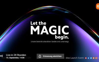 Xiaomi Launch Event: So könnt ihr das Live-Event heute um 14 Uhr verfolgen