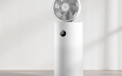 Xiaomi bringt Luftreiniger mit zirkulierendem Ventilator ins Crowdfunding