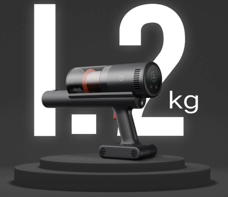 Xiaomi Mijia Qingyu Akkusauger geringes Gewicht Maße