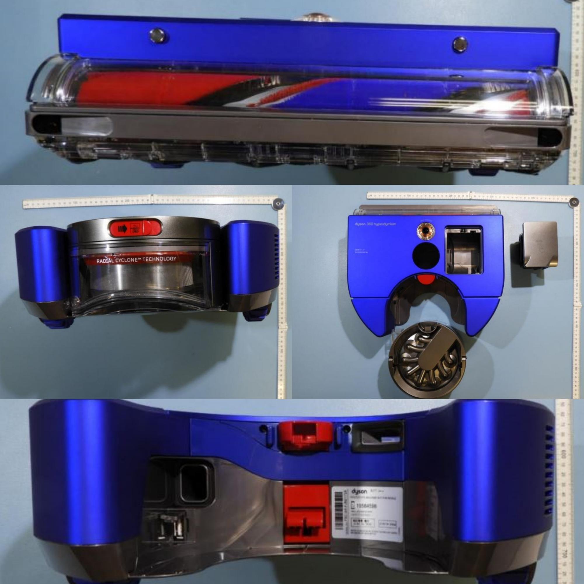 Dyson 360 Hyperdymium Saugroboter Einzelteile