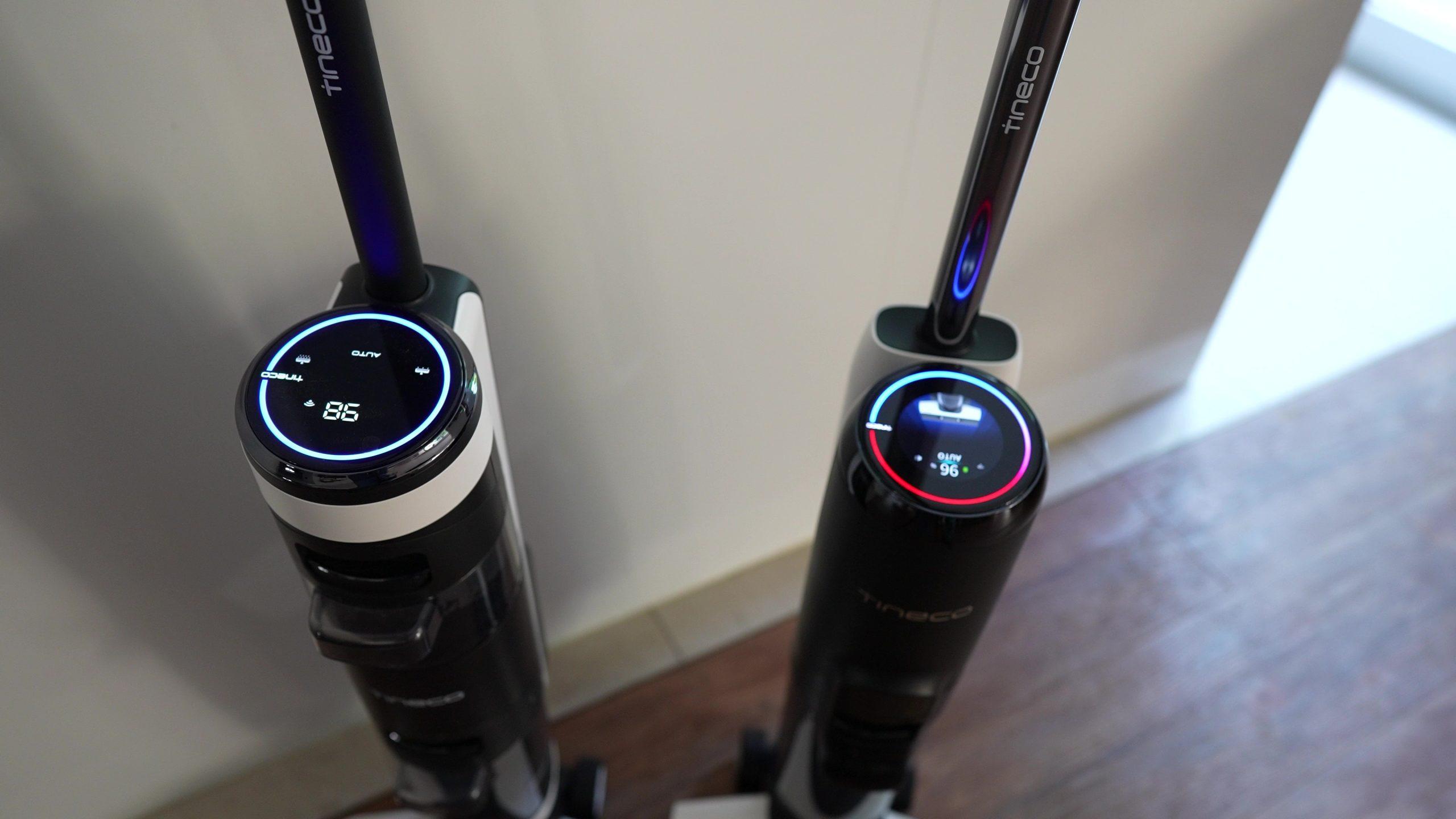 Tineco Floor One S5 Pro Wischsauger Akkusauger Display Vergleich Vorgängermodell